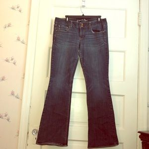 American Eagle Artist stretch bootcut jeans
